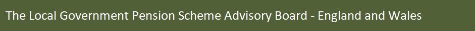 LGPS Scheme Advisory Board